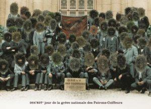 Grève des Patrons-Coiffeurs