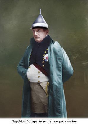 Napoléon se prenant pour un fou
