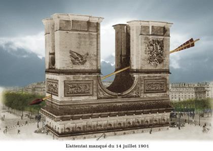 Attentat manqué de l'Arc de triomphe