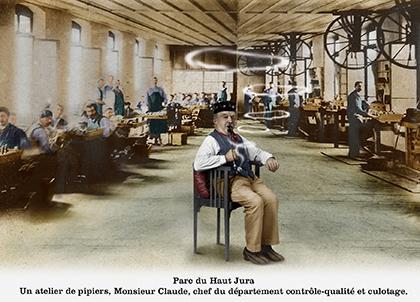 Atelier de pipiers
