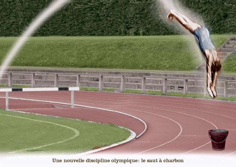 Une nouvelle discipline olympique: le saut à charbon