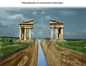 Délocalisation de monument historique