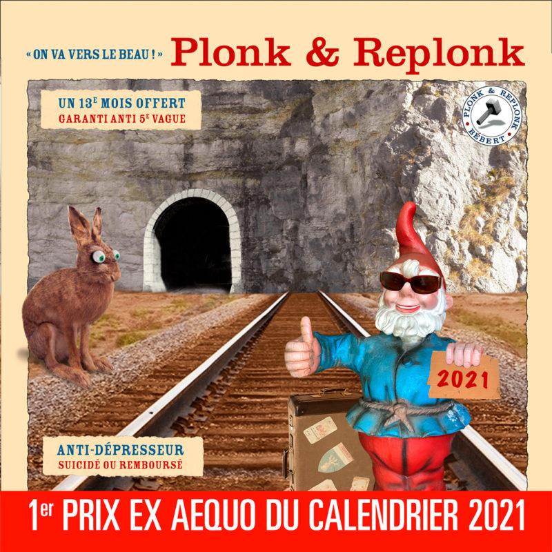 Le calendrier 2021 de Bébert Plonk & Replonk