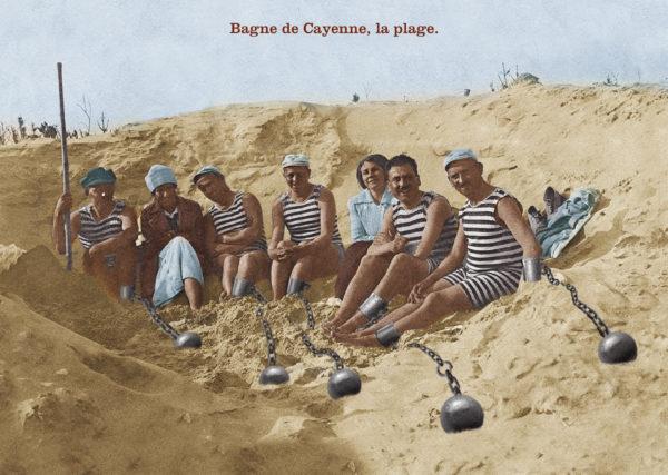 Bagne de Cayenne, la plage